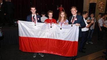 Polscy olimpijczycy - Michał Gala, Mikołaj Świerczyński, Dominika Zajkowska i Adam Klukowski