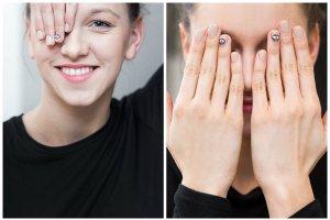 Czy nail art jeszcze �yje? Sprawdzamy! Inspiracja: Alexa Chung i jej paznokcie z oczami