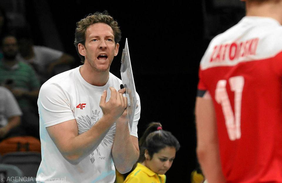Kim jest trener polskiej reprezentacji siatkówki