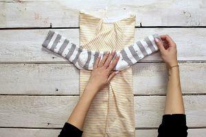 Ekonomiczne składanie ubrań bez zagnieceń? To możliwe. I to na trzy sposoby