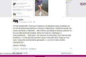 """Beata Kozidrak rozsta�a si� z m�em? """"Uciek�a ze z�otej klatki"""". Bajm wyda� o�wiadczenie. Mocne"""