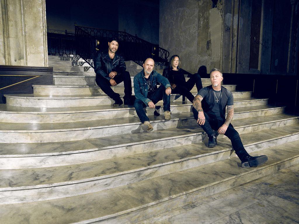 Metallica, od lewej: Trujillo, Ulrich, Hammett i Hetfield / MATERIAŁY PROMOCYJNE LIVE NATION