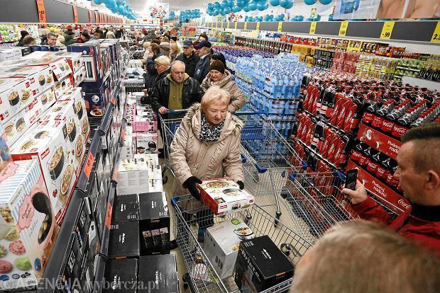 18.09.2015, Częstochowa, hipermarket Auchan.