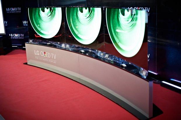 Wygięty OLED