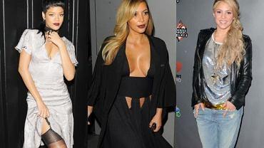 Shakira, Rihanna, Kim Kardashian.