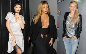 Shakira, Rihanna, Kim Kardashian