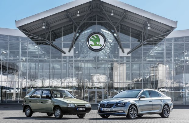 Skoda i Volkswagen | To ju� 25 lat razem