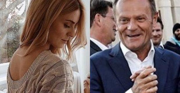 Donald Tusk zdradził płeć dziecka Kasi Tusk? Zapytała go o to jego zwolenniczka