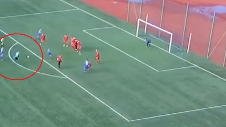 Fenomenalny gol Piotra Smołucha