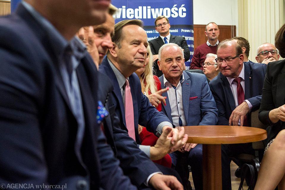 Wybory samorządowe 2018. Wieczór wyborczy w sztabie PiS w Rzeszowie