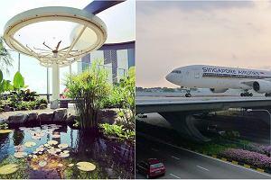 """Basen na dachu, spa i 40-metrowy wodospad. Nic dziwnego, że to """"najlepsze lotnisko świata""""[ZDJĘCIA]"""