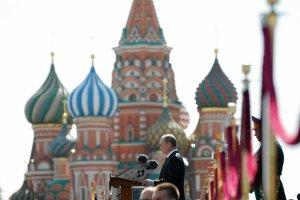 """Parada zwyci�stwa w Moskwie. Putin na rozpocz�ciu: """"Hitlerowska awantura by�a straszn� lekcj� dla �wiata"""""""