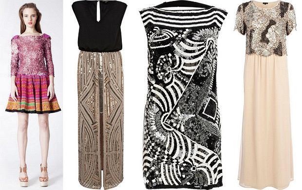 Sukienki z cekinami - must have zimnego sezonu