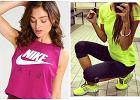 Stylizacje na fitness w neonowych kolorach