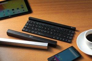 Składana klawiatura LG Rolly - da się na niej wygodnie pisać? Sprawdziliśmy
