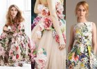 Sukienki w kwiaty na wiosnę i lato