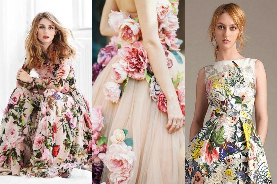 d34641fca7f0 Sukienki w kwiaty na wiosnę i lato