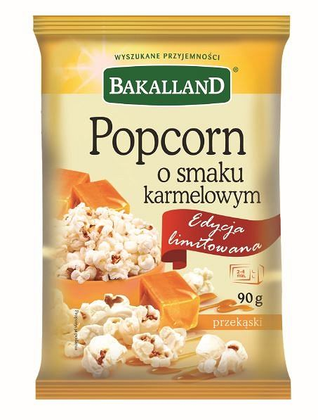 Bakalland - Popcorn karmelowy