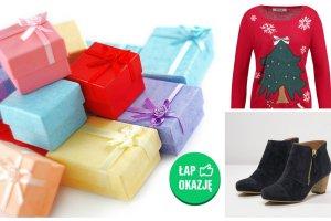 Odzieżowe prezenty pod choinkę - zobacz jak kupić je taniej