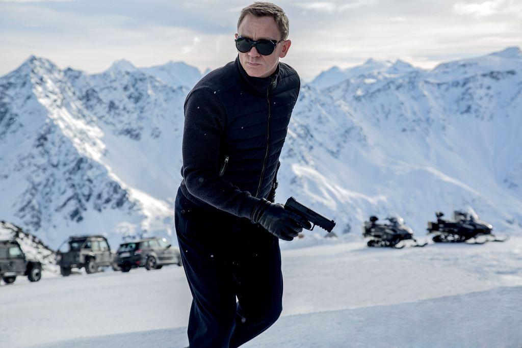 Daniel Craig jako James Bond w filmie 'Spectre'