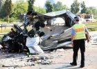 Niemcy: Wypadek dw�ch autokar�w (polskiego i ukrai�skiego) oraz busa. Nie �yje co najmniej 10 os�b