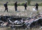 Wznowiono zbieranie szcz�tk�w malezyjskiego samolotu zestrzelonego na Ukrainie