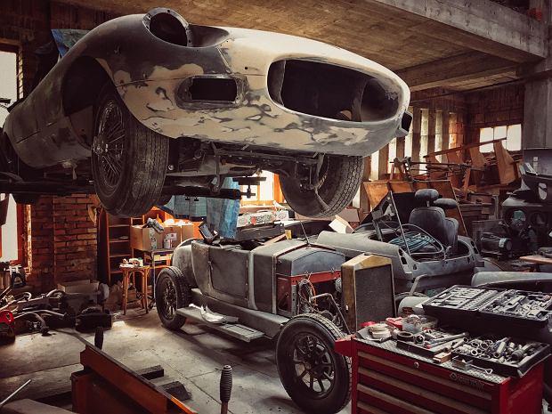 Jaguar E-Type w procesie renowacji
