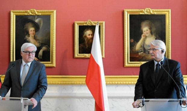 Spotkanie szefów MSZ Polski i Niemiec - Franka-Waltera Steinmeiera i Witolda Waszczykowskiego