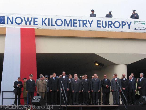 Dro�sza autostrada, ale za to trzeci pas na obwodnicy Poznania