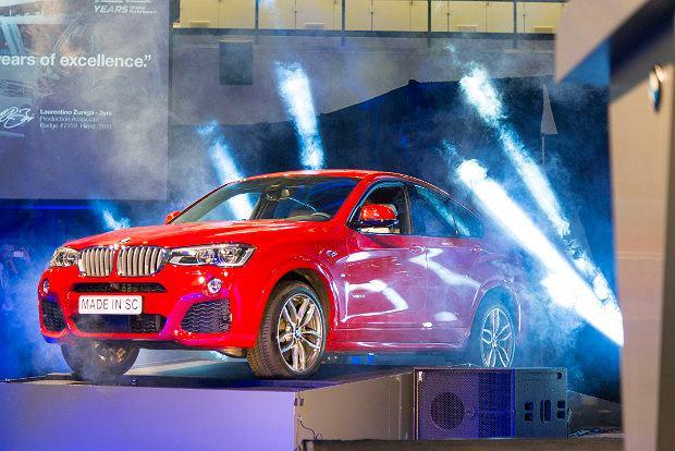 BMW powiększy fabrykę w Spartanburgu