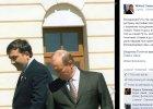 """Putin twierdzi, �e Ukrain� oddano pod """"zewn�trzny zarz�d"""". Jest celna riposta b. prezydenta Gruzji"""