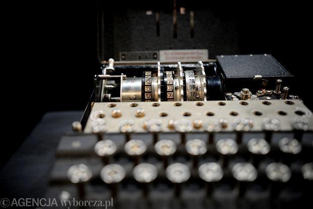 Enigma - niemiecka maszyna szyfrująca.