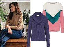 Kobiece swetry i golfy w super cenach i najmodniejszych kolorach sezonu. Ten w stylu Wieniawy już za 69 zł