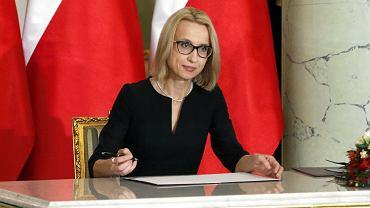 8.01.2018, minister finansów Teresa Czerwińska