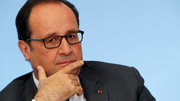 Francois Hollande przełożył wizytę w Polsce