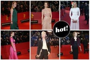 Wspaniałe stylizacje gwiazd na Festiwalu Filmowym w Berlinie [ZDJĘCIA]