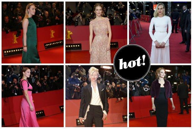 Wspania�e stylizacje gwiazd na Festiwalu Filmowym w Berlinie [ZDJ�CIA]