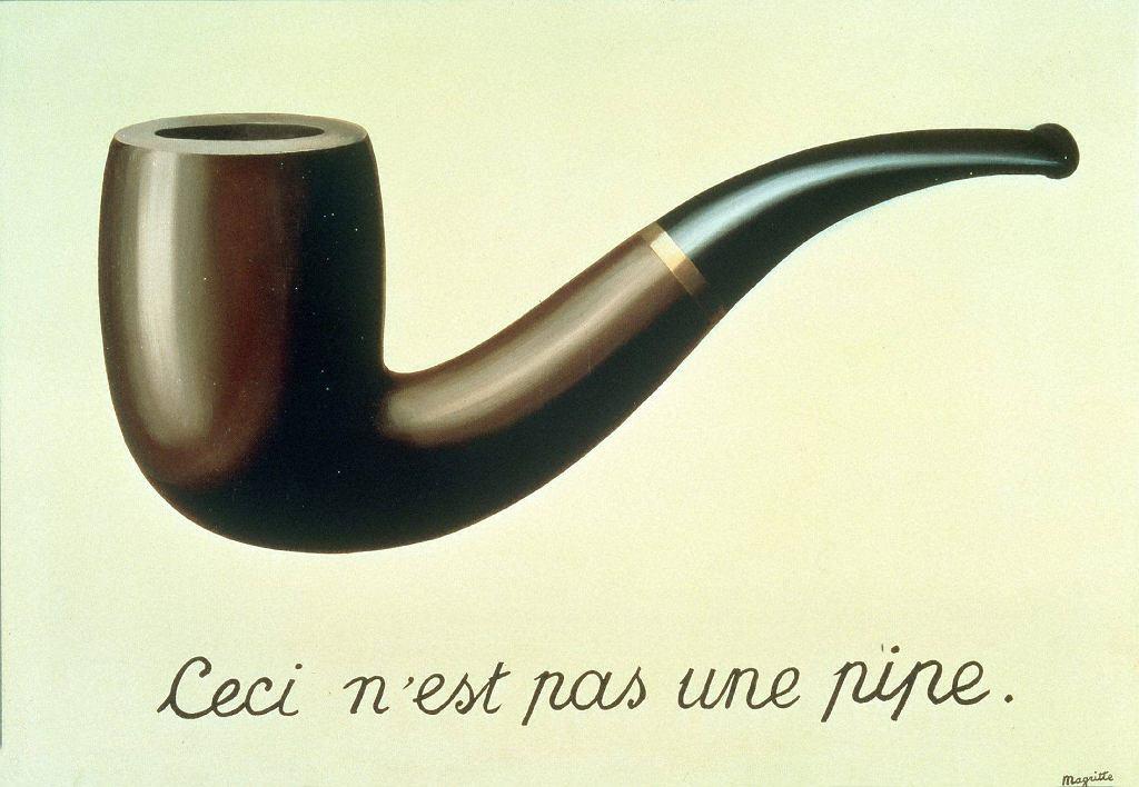 René Magritte 'Zdradliwość obrazów' / René Magritte 'Zdradliwość obrazów'