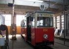"""Tramwajowe zabytki (1). """"Enka"""", wojenny tramwaj z 1958 roku"""