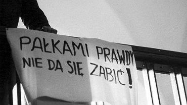 Strajk na Politechnice Gdańskiej, marzec 1968 rok.