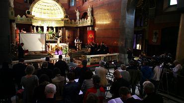 Liturgia pokutna za grzechy pedofilii popełnione przez duchownych, Bazylika Najświętszego Serca Pana Jezusa w Krakowie, 20 czerwca 2014 r.