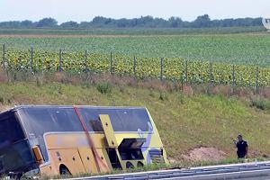 Wypadek polskiego autokaru w Serbii. Kierowca zatrzymany