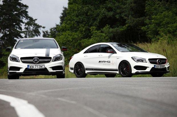 Konfrontacja | Mercedes A45 AMG kontra CLA45 AMG | Bratob�jcza walka