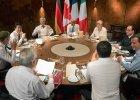 """Pierwszy dzie� szczytu G7:  ''roboczy obiad'', """"nie"""" dla Rosji i naciski Obamy"""