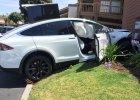 Wypadek Tesli Model X | Kierowca obwinia samochód