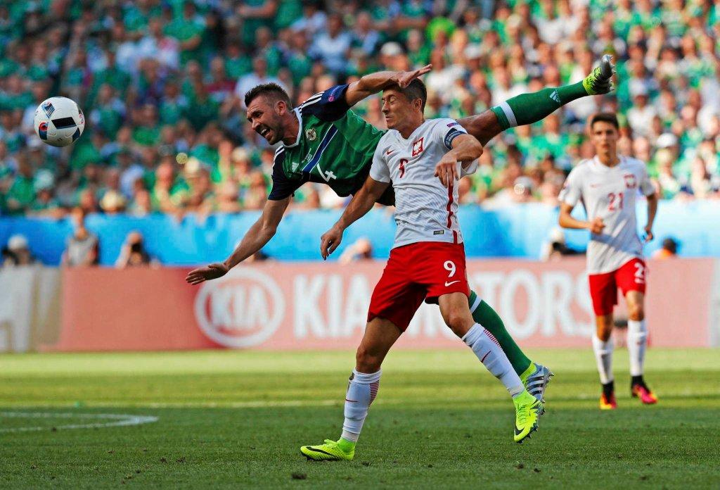 Zdjęcie numer 2 w galerii - Euro 2016. Polska - Irlandia Płn. Lewandowski: To nawet nie był pierwszy krok