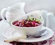 Czerwona zupa cebulowa