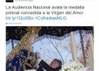 Apelacja �wieckiej Europy odrzucona. Matka Boska odznaczona policyjnym Medalem Zas�ugi