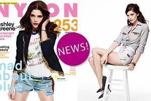 """Seksowna Ashley Greene z sagi """"Zmierzch"""" dla magazynu """"Nylon"""" (zdj�cia i wywiad)"""