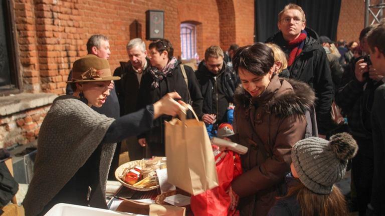 Wielki Świąteczny targ Dobrego Jedzenia w Fortecy